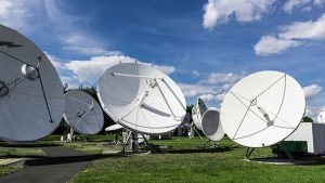 Telco satellite dishes