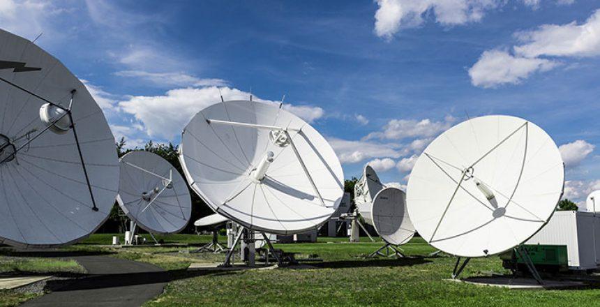 Telco satellite dishes